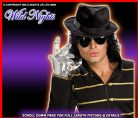 FANCY DRESS ~ MICHAEL JACKSON POPSTAR SEQUIN GLOVE